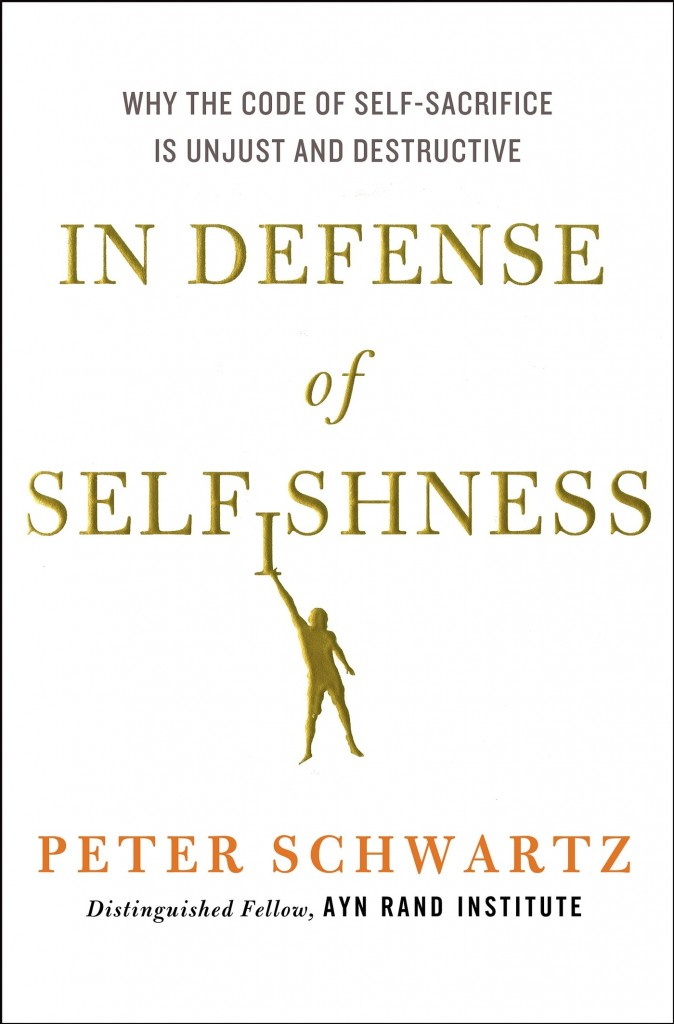 In Defense of Selfishness cover image